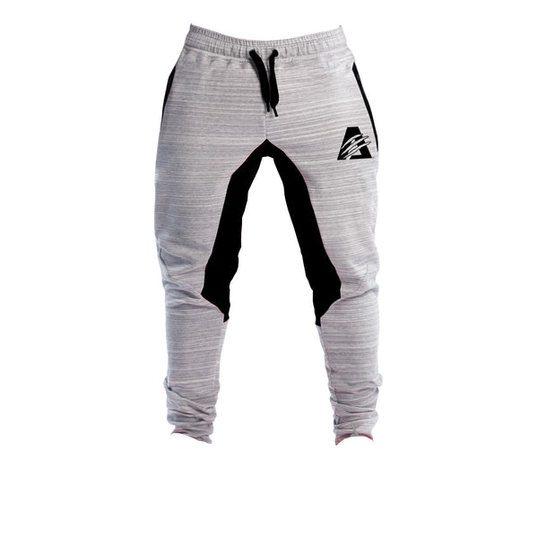 Grey/Black | AlphaTECH™ | FITTED Joggers