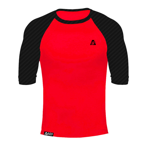 Black Carbon/Red | CarbonTECH™ | Raglan