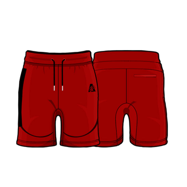 Red/Black | Tech Fleece Shorts