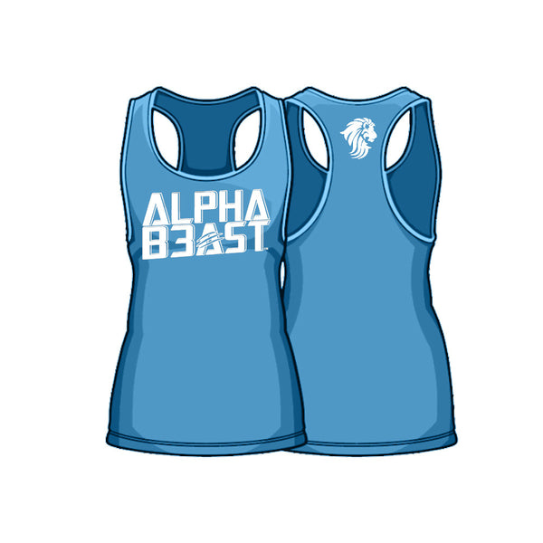 Glacier/White | AlphaFit™ Men | Stringer Tank