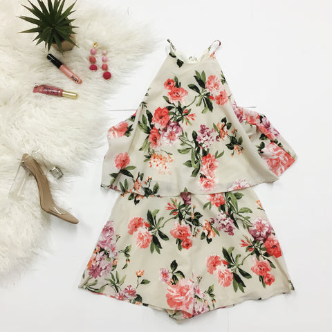 Smell The Roses Romper