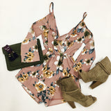 Fashionably Floral Romper