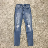 Low Rider Skinny Jeans - Runway Seven