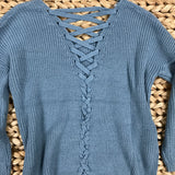 I've Got the Blues Sweater - Runway Seven  - 3
