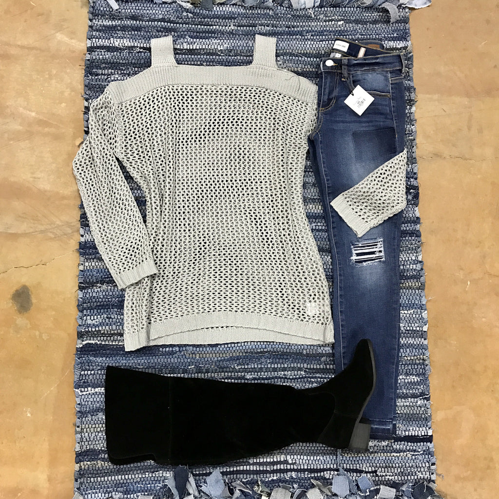 Layer Up Sweater - Runway Seven