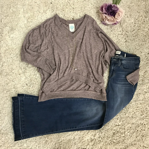 Wild Orchid Sweater