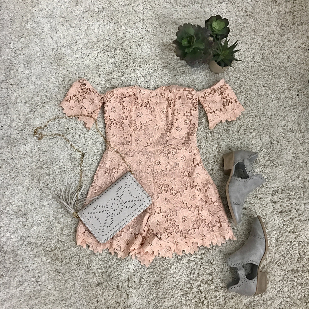 Love Me Always Romper - Runway Seven