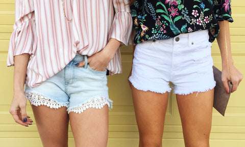 Show Me the Lace Shorts