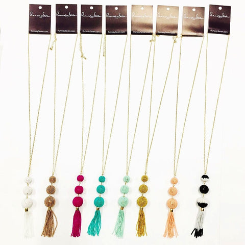 Totally Tassels Necklace