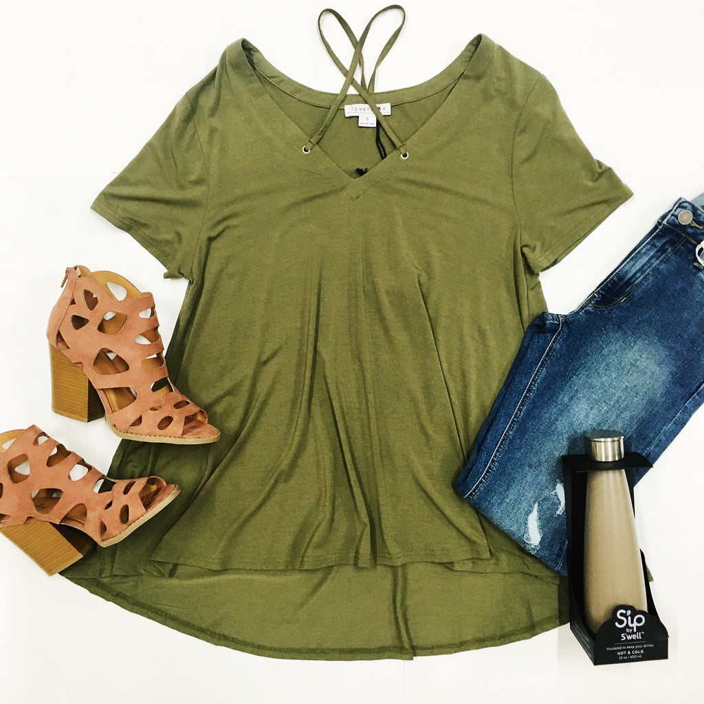 Olive You Babe Top