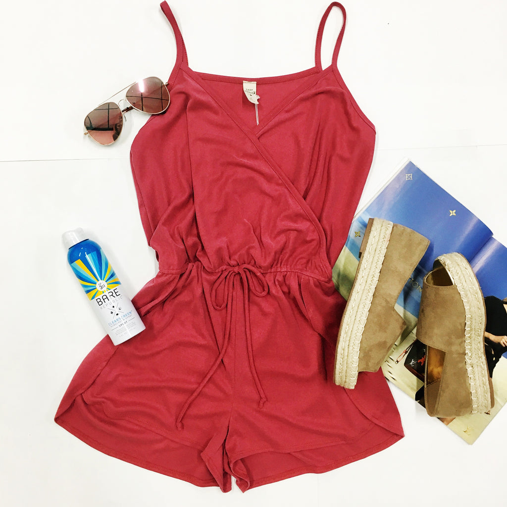 Bad Blood Romper