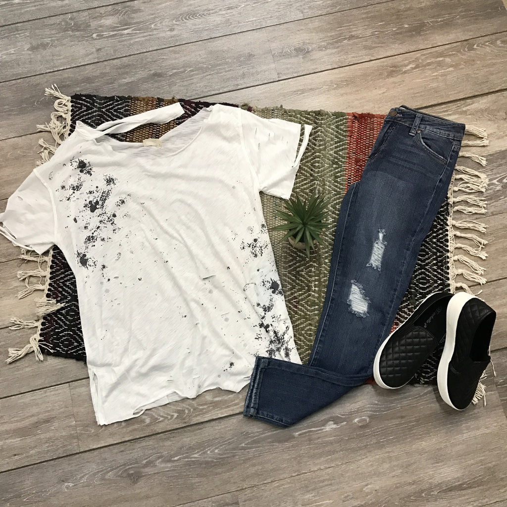 Splattered Paint Top