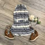 Smart in Stripes Romper