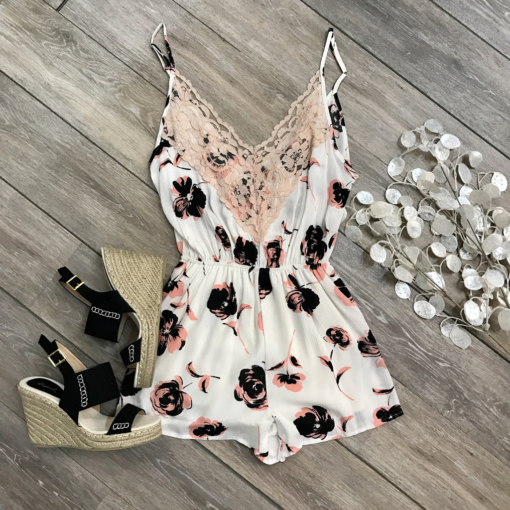 Bold Beauty Romper