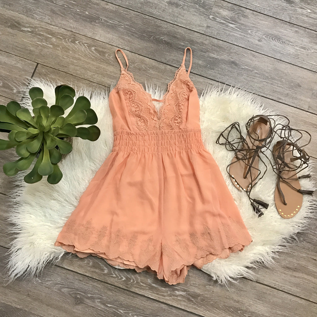 All I Ever Wanted Romper