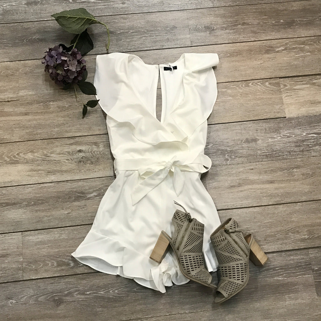 White Cloud Romper