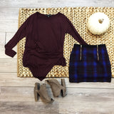 Plaid Mini Skirt - Runway Seven  - 2