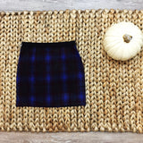 Plaid Mini Skirt - Runway Seven  - 3