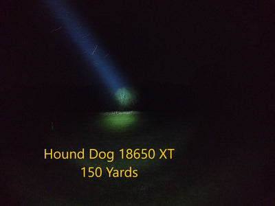 Malkoff Cool Turn Key Hound Dog 18650 XT Flashlight