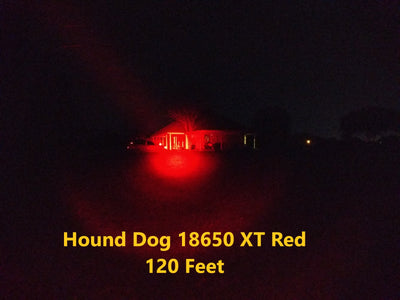 Malkoff Hound Dog 18650 XT Red Head Only