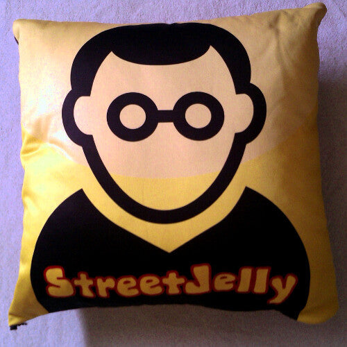StreetJelly Icon Plush Pillow