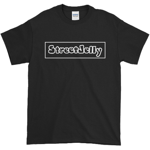 StreetJelly Black & White Ultra-Soft Cotton T-Shirt