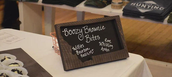 Boozy Brownie Bites