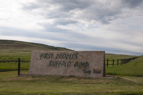 lively times first people's buffalo jump