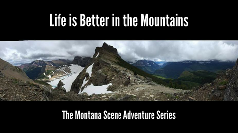 life is better in the mountains adventure series