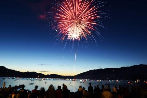 the montana scene 4th of July whitefish pilot