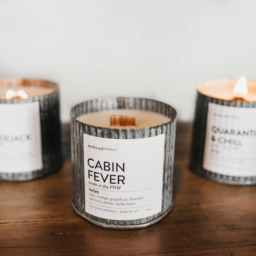 Cabin Fever - Rustic Vintage Candle