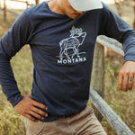 Montana Elk Long Sleeve