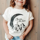 Chasing the Stars Toddler Tee - Natural