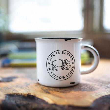 Life is Better in the Mountains Ceramic Mug