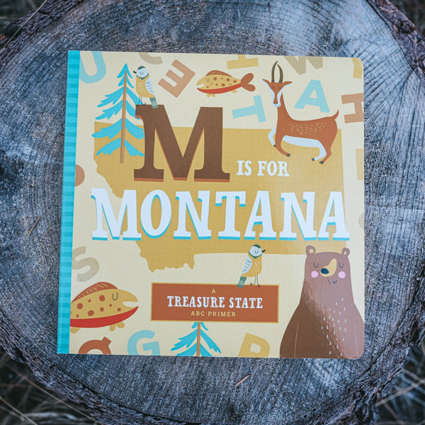 M is for Montana - Kids Book