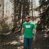 Montana Trees Men's Tee - Green