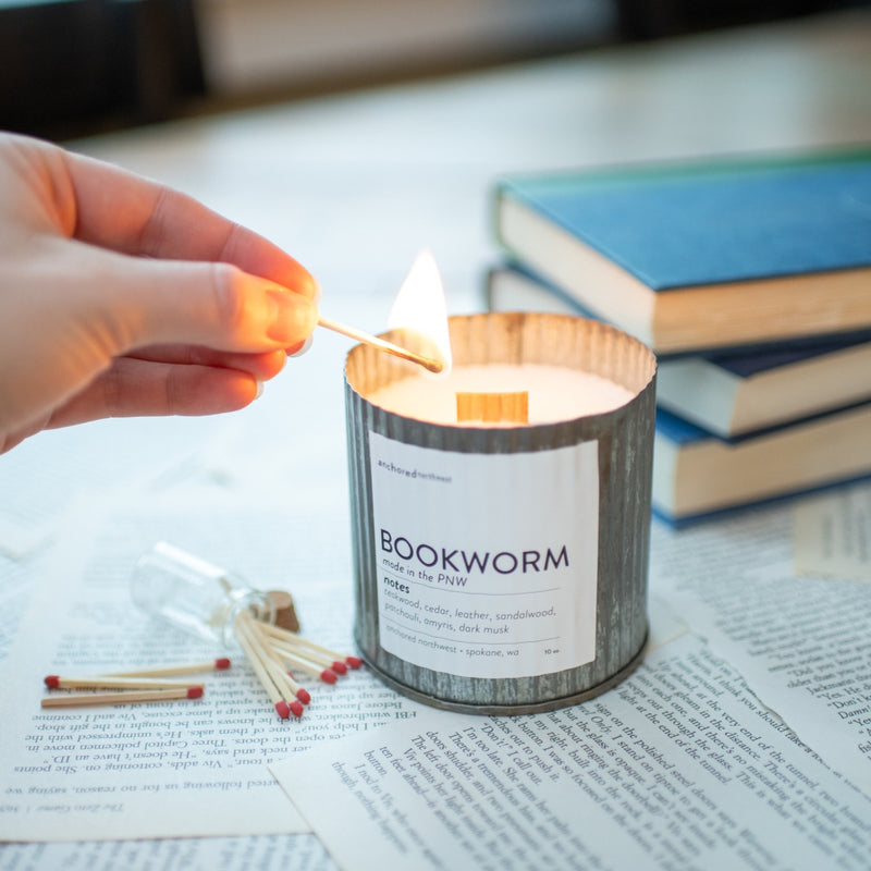 Bookworm - Rustic Vintage Candle
