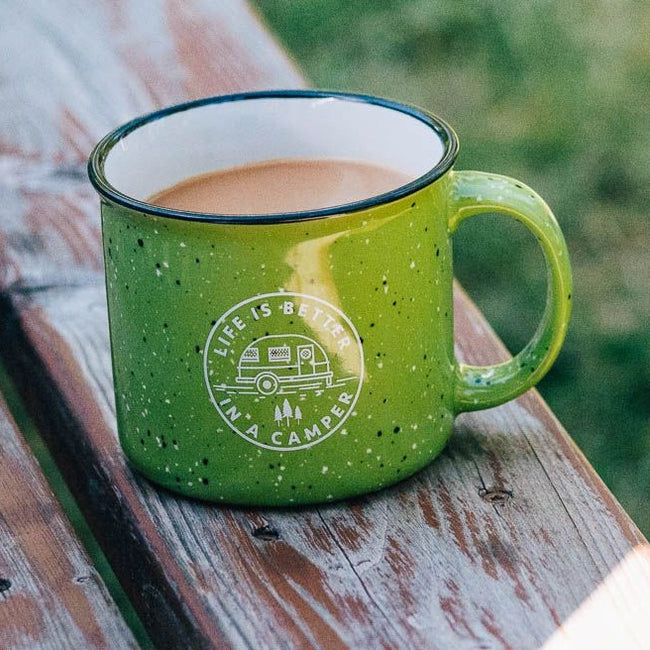 life is better in a camper mug