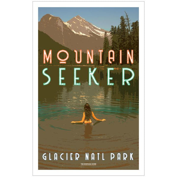 Mountain Seeker GNP Poster