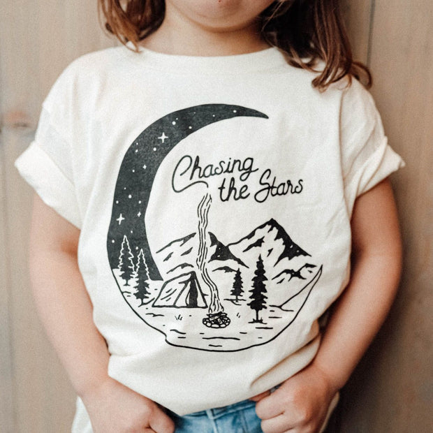 Chasing the Stars Toddler Tee - Natural 1