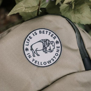 Life is Better in Yellowstone Patch