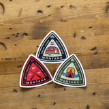 Triangle Adventure Sticker