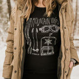 Mountain Vibes Thermal Unisex - Black