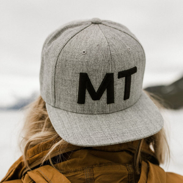 Big MT Wool Snapback Trucker - Grey