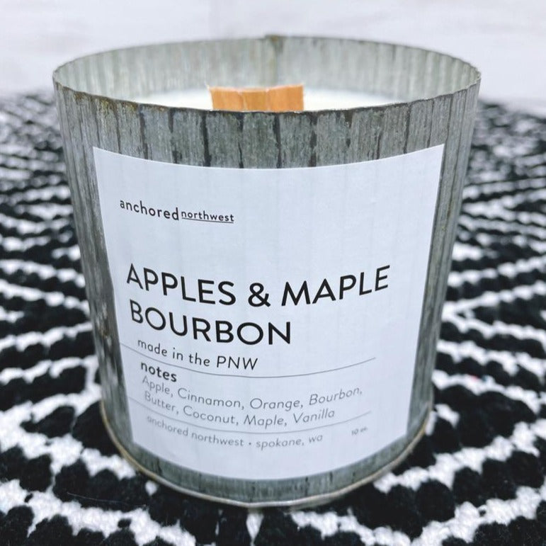 Apple & Maple Bourbon - Rustic Vintage Candle