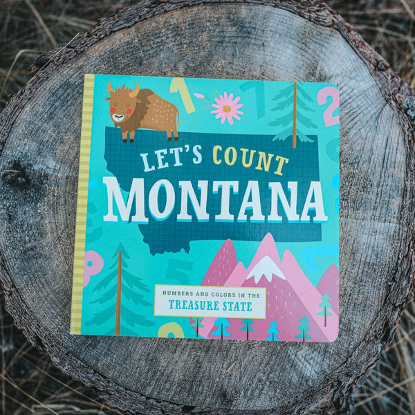 Let's Count Montana - Kids Book