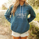 Ready for Adventure Unisex Hoodie - Cobalt