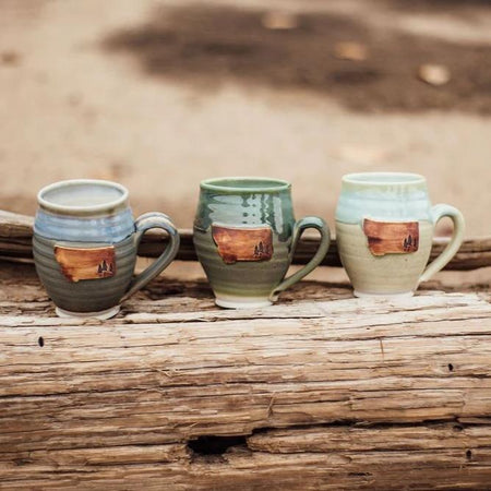 Montana Wildflower Cafe Mug