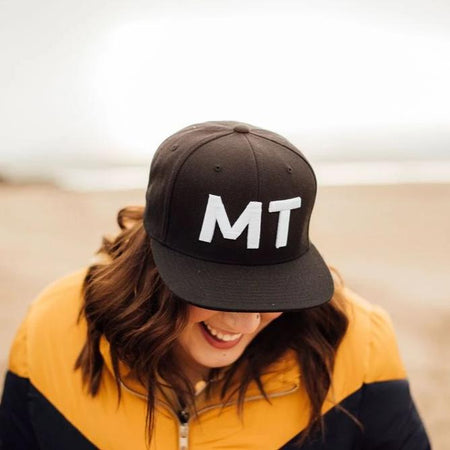 Montana Babe Dad Hat - Mustard Yellow
