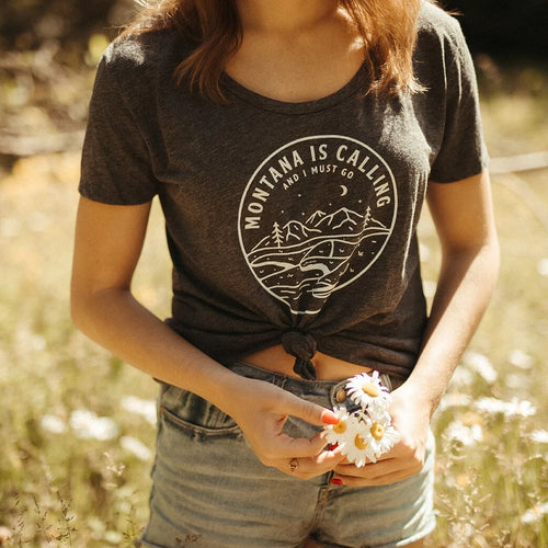 Montana is Calling Festival Tee - Charcoal